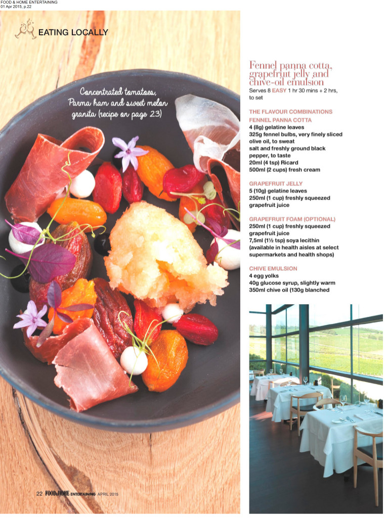 Food & Home - April 2015 page 3