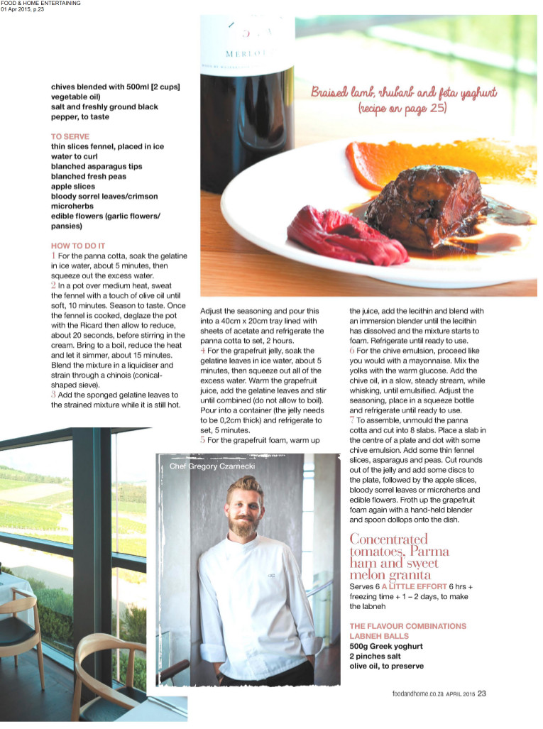 Food & Home - April 2015 page 4