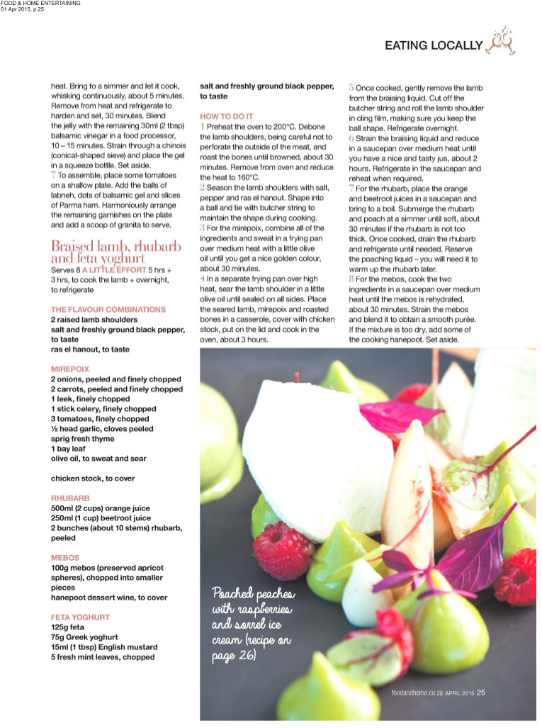 Food & Home - April 2015 page 6